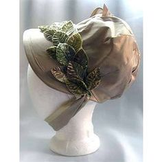 Pattern - Regency Bonnet - Zenobia costume, dress, regency, patterns, spencer, nightgown, parasol, fan, reticule, Jane Austen