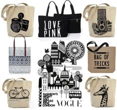 Craving: Print Tote Bag