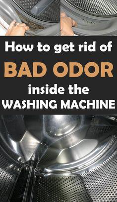 removing washing machine odor