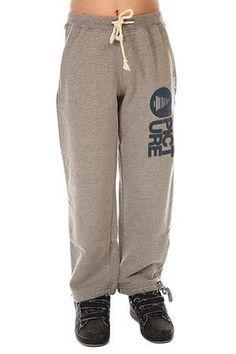 Штаны широкие детские Picture Organic Rampe Pants Grey Melange  — 6770р.