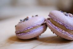 lavender & vanilla bean french macarons.... a must to master!!