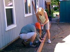 DIYNetwork.com experts show how to create a bocce ball court in a backyard.