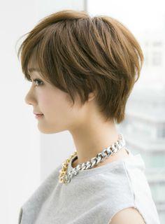 【ショートヘア】大人に似合う耳かけショートスタイル/Ramieの髪型・ヘアスタイル・ヘアカタログ|2016春夏