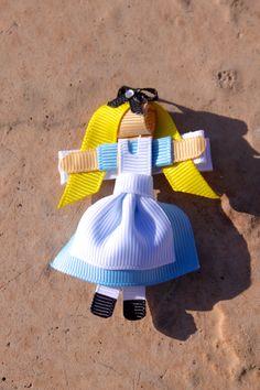 Alice Hair Clip...available at: www.petalprintsboutique.com