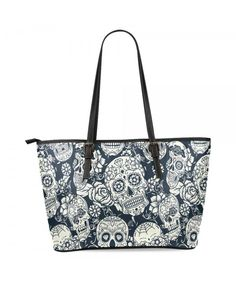 e7509152304 Sugar Skull Women s Leather Tote Shoulder Bags Handbags - Multi 7 -  C918987RH5W