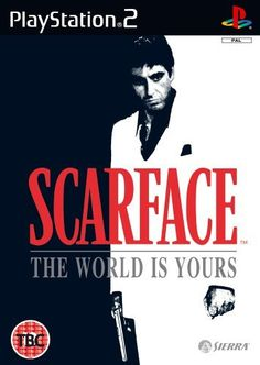 Scarface: The World is Yours (PS2) , http://www.amazon.com/dp/B0009RWI54/ref=cm_sw_r_pi_dp_j3bCvb0J0AHHA