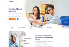 Getting the best wordpress theme for digital marketing agency, SEO agency, Social Media agency & online advertising agency you can relay on our selection. Social Media Marketing Agency, Seo Agency, Digital Marketing, Business Card Design, Creative Business, Business Cards, Footer Design, Design Design, Online Advertising