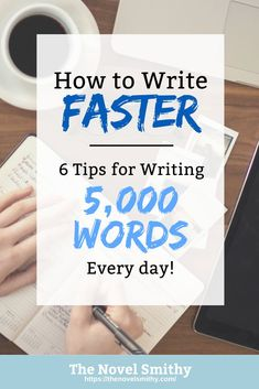 Writing a book tips - In the face of writing a novel, many writers give up. However, by learning to write faster, writers can push through the challenges of writing a novel.