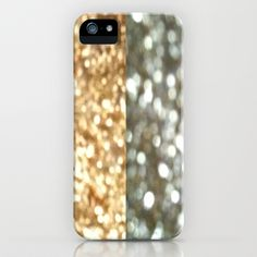 Gold & Silver iPhone & iPod Case by TheseRmyDesigns