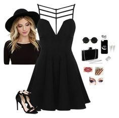 """""""Day On The Town"""" by hanakdudley ❤ liked on Polyvore featuring RHYTHM, Topshop, STELLA McCARTNEY, Jules Smith and Smashbox"""