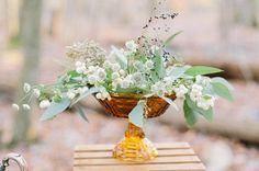 Autumn Amber Wedding Inspiration