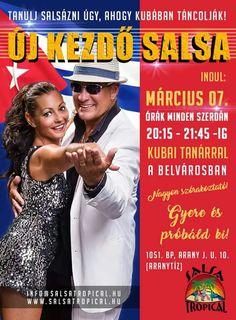 Új kezdő salsa tanfolyam. Március 07. http://salsatropical.hu #salsa #salsatanfolyam #salsatropical
