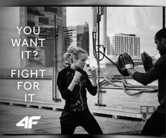 You want it? Fight for it. #quotes