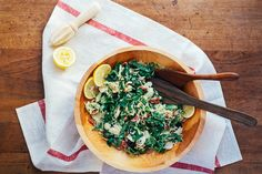 Shaved Brussels Sprout Salad with Bacon, Meyer Lemon, and Tart Dried Cherries, a recipe on Food52