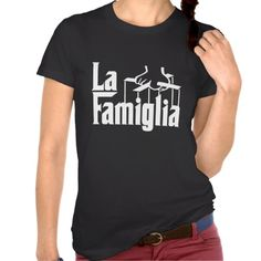 La Famiglia #funny #godfather #t-shirt