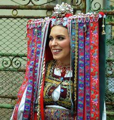 """folk costume"" - It Was A Work of Craft Folk Costume, Costumes, Shaman Woman, Bridal Headdress, European History, Art History, Principles Of Art, Orthodox Icons, Op Art"