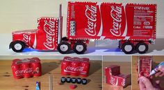How To Make Coca Cola Truck Christmas Decoration [video] | Home ...