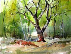 Watercolor Painting | Milind Mulick Watercolor Paintings - Fine Art Blogger