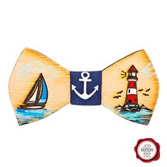 Wood bow tie / wooden bow tie / bowtie /painted bow tie