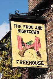 Free House bar sign