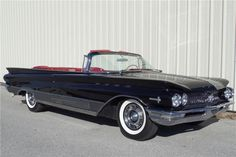 Top of the line 1960 Buick Electra 225 convertible. Recent frame-off restoration. Factory color combination of black with red leather interior. Power steerin...