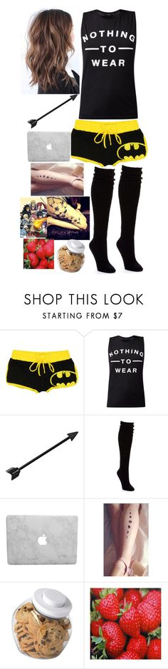 """""""Anime day"""" by mariposas39 ❤ liked on Polyvore featuring HUE, OXO and WALL"""