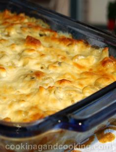Macaroni and Cheese or Mac and Cheese is simple and delicious. If you love cheese as much as I do, you will like this dish.