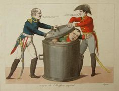 Anonimo, soffocamento imperiale  (disegno satirico dell'epoca)