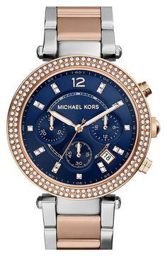 MICHAEL Michael Kors Michael Kors 'Parker' Chronograph Bracelet Watch, 39mm available at #Nordstrom