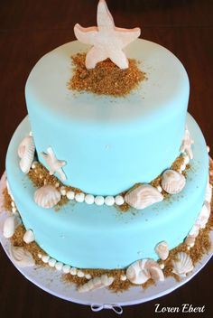 The Baking Sheet's Beach Cake