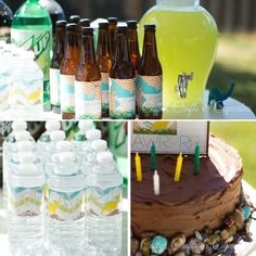 Dinosaur 6th Birthday Party Ideas - Spaceships and Laser Beams