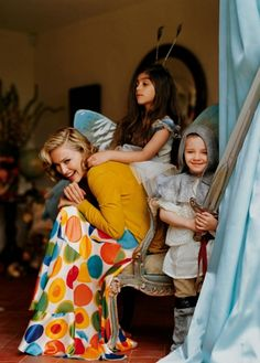 Madonna and family photographed by Tim Walker