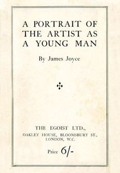 Once upon a time and a very good time it was there was a moocow coming down along the road and this moocow that was coming down along the road met a nicens little boy named baby tuckoo. —James Joyce, A Portrait of the Artist as a Young Man