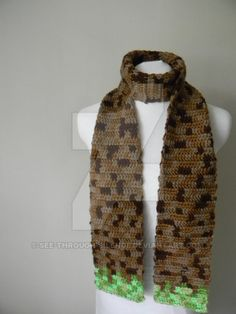 Minecraft scarf by see-through-silence on DeviantArt