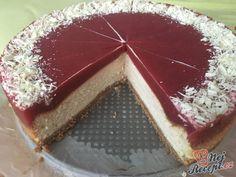 Cheesecake s bílou čokoládou a jahodovým želé Cheesecake Cupcakes, Sweet Life, Cheesecakes, Tiramisu, Panna Cotta, Food And Drink, Birthday Cake, Pudding, Candy