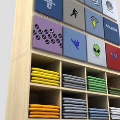 Digital-X Models - T-Shirt Cube Display - 3D Model