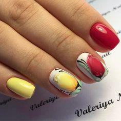 Маникюр / Ногти / Мастера (@nail_art_club_) • Фото и видео в Instagram Celebrity Nails, Floral Nail Art, Fabulous Nails, Love Nails, Nail Arts, Trendy Nails, Coffin Nails, Creative Art, Hair And Nails