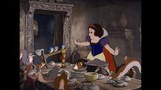 snow white | Snow White and the Seven Dwarfs Snow White Talks to the Animals in the ...