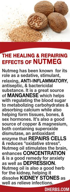 Nutmeg has been known for its role as a sedative, stimulant, anti-inflammatory…