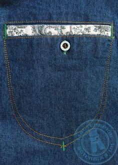 карман джинсовой куртки Цена 5500₽ или 85$