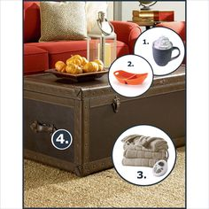 Cozy Up to a Coffee Table Trunk