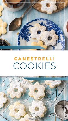 Canestrelli Shortbread Cookies are tender and melt-in-your-mouth delicious, and are perfect on a holiday cookie tray.