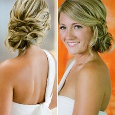 Like the look but would it just look messy? Bridesmaid Hair