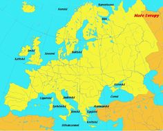 oceány a moře evropy - Hledat Googlem