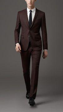 ShopStyle.com: Modern Fit Birdseye Virgin Wool Suit $1,295.00