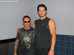 Henry-Cavill-with-Scuba-Instructor-during-Man-of-Steel-Filming by The Henry Cavill Verse, via Flickr