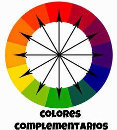 Colores complementarios. Combinación de colores.  ROJO CON VERDE