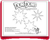 Make your own #fireworks with this #free #printable from the makers of #DumDums! Download more seasonal printable activities at DumDumPops.com! Coloring Pages, Fireworks Art, Make Your Own, How To Make, Free Printable, Activities For Kids, Printables, Wallpaper, Quote Coloring Pages