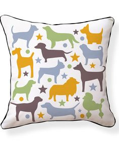 Spotted this Naked Décor Bow Wow Pillow on Rue La La. Shop (quickly!).