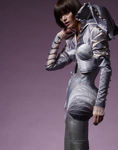 Scherer González - Couture from Berlin, #fashion, #futuristic, #dress